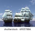 Three Ship In The Sea