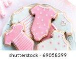 baby shower cookies | Shutterstock . vector #69058399