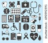 hospital. health insurance... | Shutterstock .eps vector #690592591