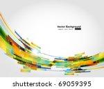 abstract background vector | Shutterstock .eps vector #69059395