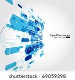 abstract background vector | Shutterstock .eps vector #69059398