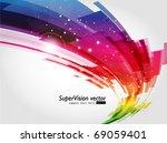 abstract background vector | Shutterstock .eps vector #69059401