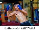 bangkok  thailand  july 30 ... | Shutterstock . vector #690629641