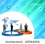 business concept | Shutterstock .eps vector #69064696