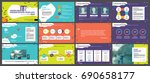colored elements for... | Shutterstock .eps vector #690658177