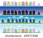 city | Shutterstock .eps vector #69071968