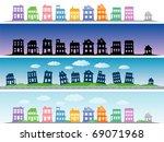 city | Shutterstock .eps vector #69071968