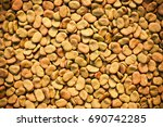 dry broad beans background | Shutterstock . vector #690742285