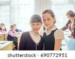 18 february 2015  russia ...   Shutterstock . vector #690772951