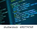 photos software developer... | Shutterstock . vector #690774769