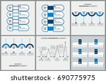 infographics template set