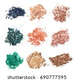 an exclusive set of crumbled... | Shutterstock . vector #690777595