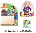 hand drawn illustration about... | Shutterstock . vector #69087496
