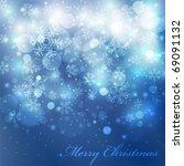 vector elegant christmas...   Shutterstock .eps vector #69091132