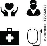 health icon vector illustration | Shutterstock .eps vector #690922639