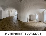 Interior Of The Round Tower In...