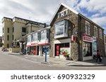 saundersfoot  uk  july 05  2016 ... | Shutterstock . vector #690932329