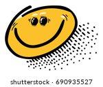 cartoon image of smile icon....