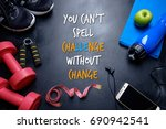 you can't spell challenge... | Shutterstock . vector #690942541