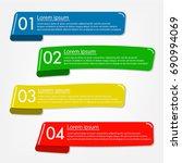 business banner for web design  ... | Shutterstock .eps vector #690994069