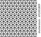 vector seamless pattern. cubes...