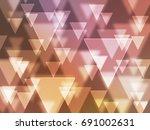 art bokeh background | Shutterstock . vector #691002631