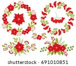 Vector Christmas And New Year...