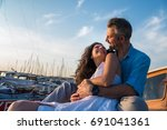 man loves woman | Shutterstock . vector #691041361