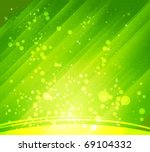abstract green backgrounds - stock vector