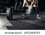 Young Athlete Getting Ready Fo...