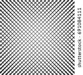 grid  lattice  grill regular... | Shutterstock .eps vector #691084111