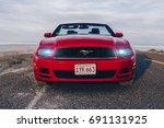 bonneville  utah  usa june 4 ... | Shutterstock . vector #691131925