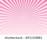 pink sunburst abstract... | Shutterstock .eps vector #691133881