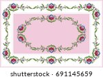 White Frame With Beads And The...