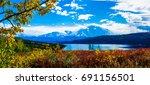 mount mckinley | Shutterstock . vector #691156501