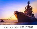 warship. large warships.   Shutterstock . vector #691159201
