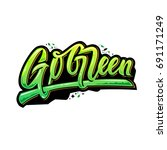 go green   Shutterstock .eps vector #691171249