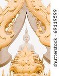 white buddha art.   Shutterstock . vector #69119599