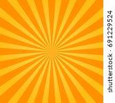 Sunburst Orange Background....