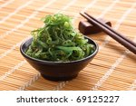 Japanese Cuisine   Seaweed...