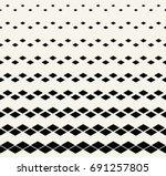 seamless chevron geometric... | Shutterstock .eps vector #691257805