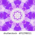 abstract background violet... | Shutterstock . vector #691298011