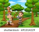 vector illustration of...   Shutterstock .eps vector #691314229