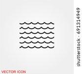 sea icon  sea icon vector  sea