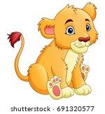 vector illustration of cartoon... | Shutterstock .eps vector #691320577