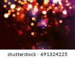 christmas background with...   Shutterstock .eps vector #691324225
