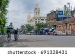 august 06 2017. kolkata   west... | Shutterstock . vector #691328431
