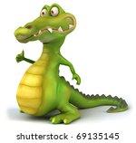crocodile | Shutterstock . vector #69135145