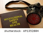 book with title occupational... | Shutterstock . vector #691352884