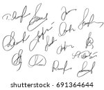 manual signature for documents...